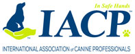 Chris Fiels & YourEveryDayK9 Are IACP (Internatioanl Association of Canine Professionals) Members